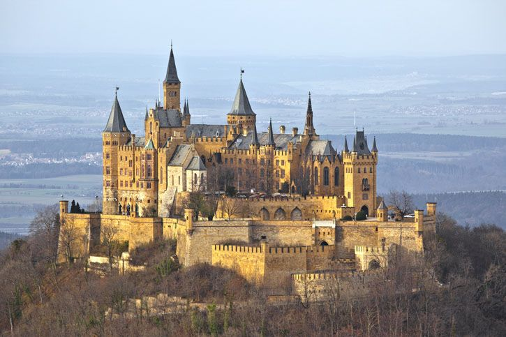 Castles Around The World Germany Castles Hohenzollern Castle Beautiful Castles