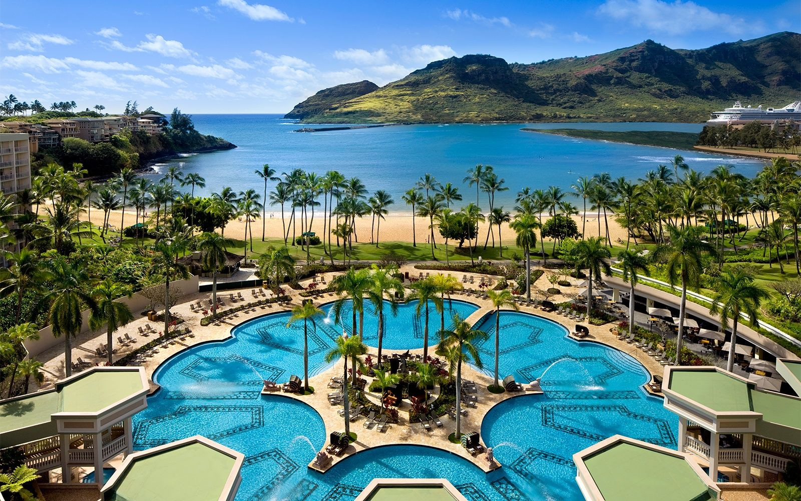 Kauai Marriott Resort On Kalapaki Beach Hawaii Hawaii