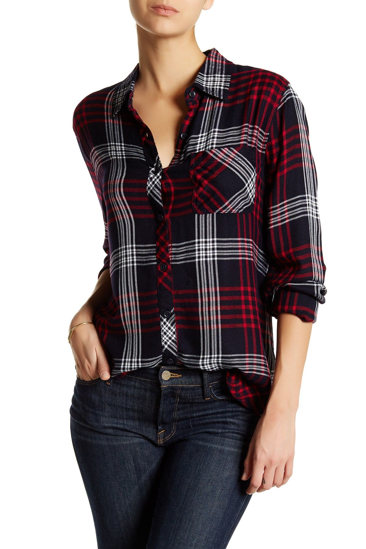 9bfb08fd10 BeachLunchLounge | Charley Plaid Blouse | Christmas List | Plaid ...
