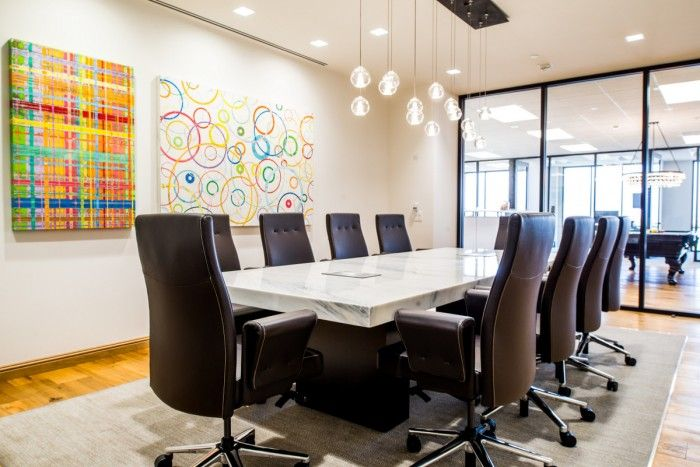 Office tour hughes marino s new orange county offices - Interior design institute orange county ...