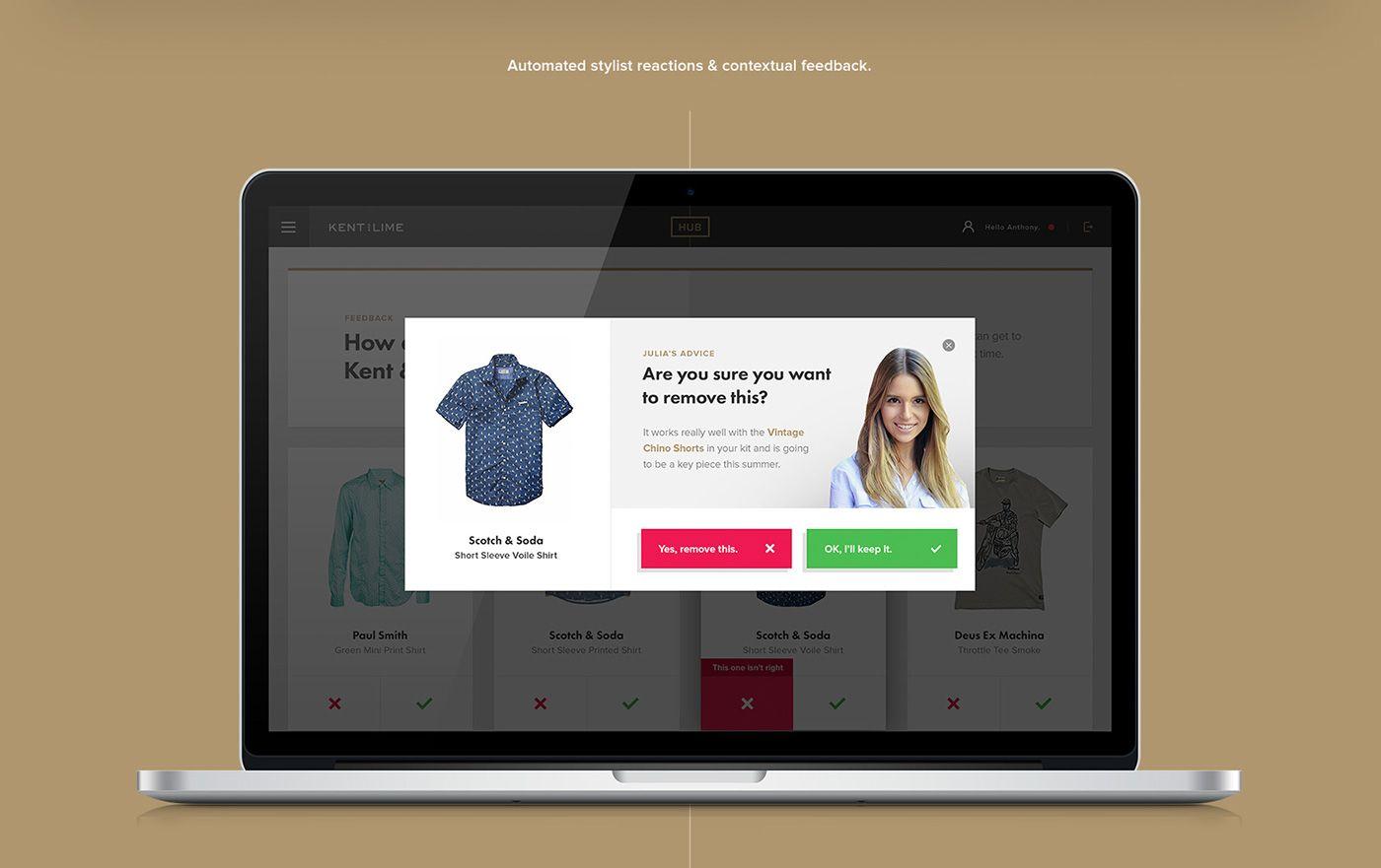 Kent & Lime Customer Portal by Avenue Studio   UI UX