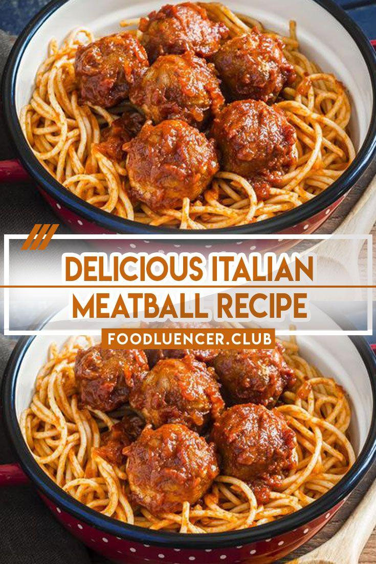 Photo of Best Ever Italian Meatball Recipe