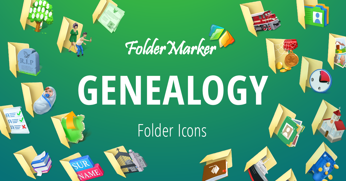 Organize your genealogy photos and documents with special