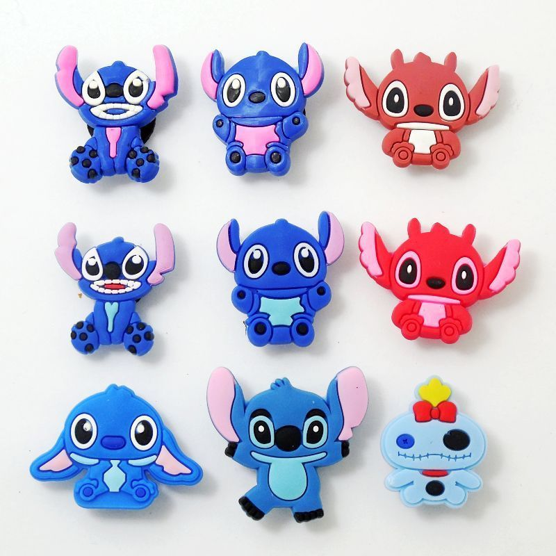 Lilo and Stitch Shoe Charms for your Crocs Bracelet Charms