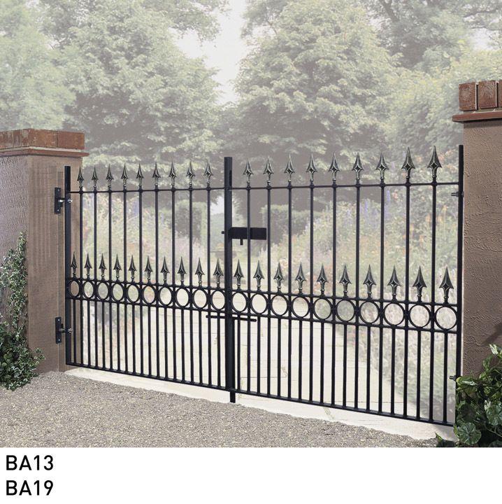 Balmoral Wrought Iron Metal Driveway Gates Double Metal Gates For Sale Metal Driveway Gates Wrought Iron Driveway Gates Wrought Iron Style