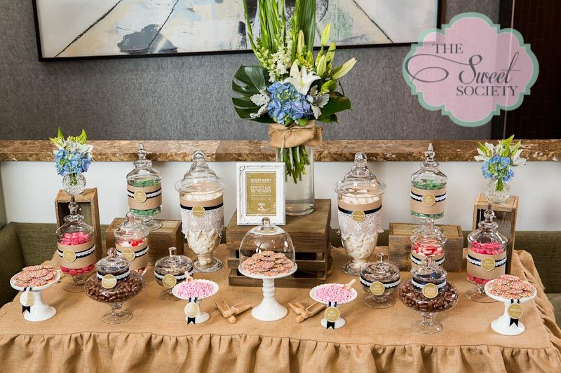 Using More Of Your Colors Obviously Rustic Lace Wedding Candy Buffet