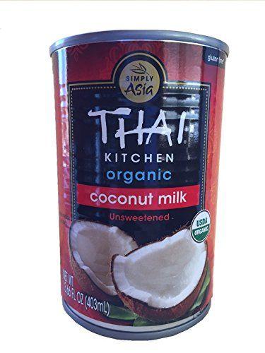 Sensational Thai Kitchen Organic Coconut Milk 13 66 Oz Pack Of 6 Interior Design Ideas Clesiryabchikinfo