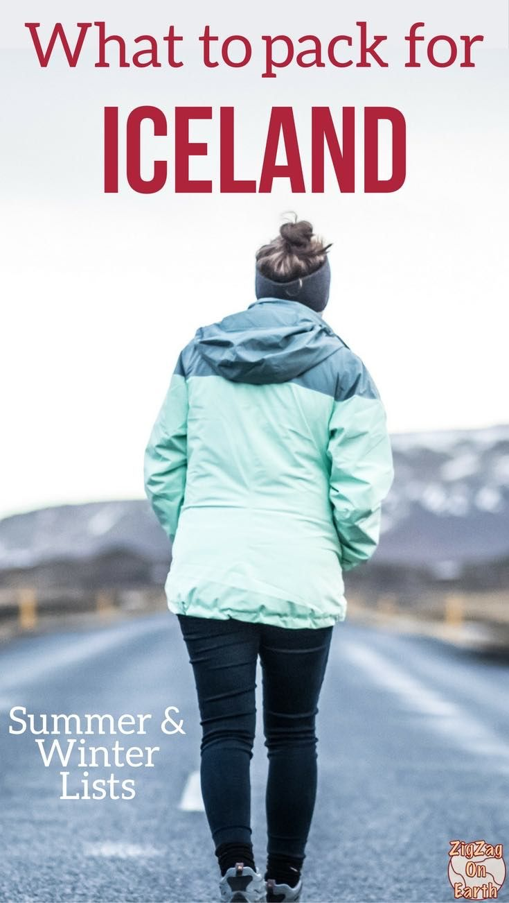 What to pack for Iceland - Winter + Summer Lists (incl ...