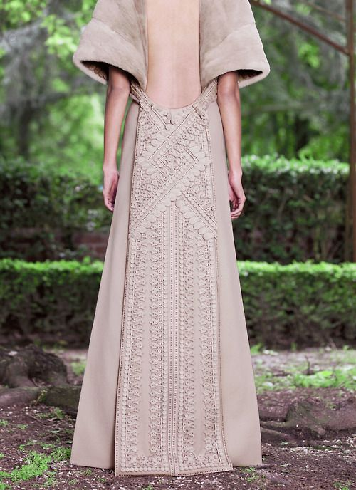 Givenchy haute couture Fall 2012.