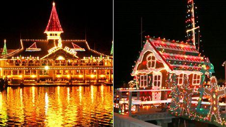 Newport Beach Christmas Lights Cruise.Post Christmas Boat Parade Cruise Newport Landing