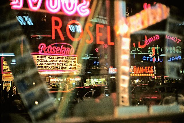 Broadway I, by Marvin E. Newman 1954