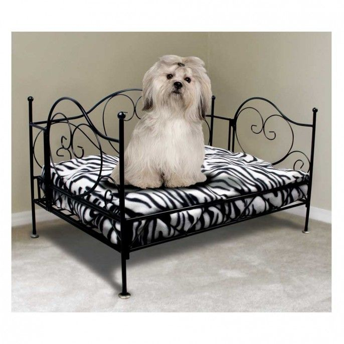 luxury metal frame pet bed