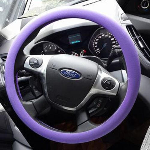 Car Steering Wheel Cover STEERING WHEEL Leather Texture