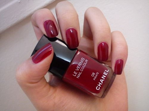 Chanel — Pirate: The perfect iconic red nail polish for dark skin ...