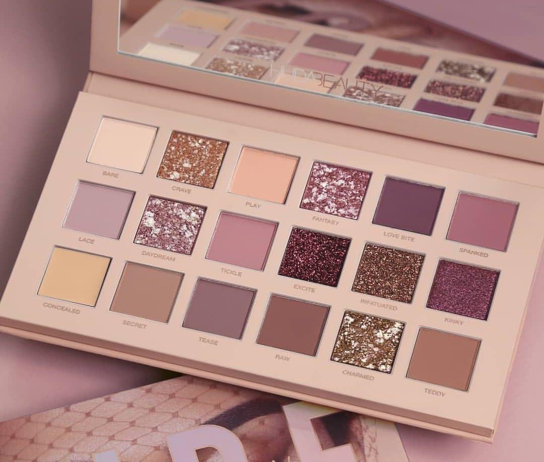 New Nude Palette - Huda Beauty  Makeup-3152