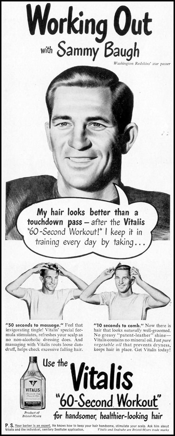 vitalis hair tonic vintage vitalis hair tonic life 11 15 1948 p 30 vitalis hair