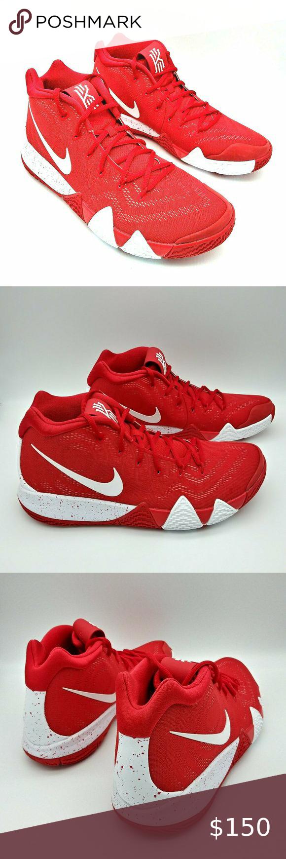COPY - Nike Kyrie 4 TB Red White AV2296-600 Mens … Nike ...