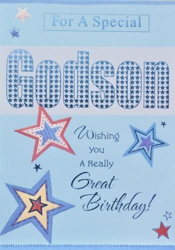 Happy Birthday Godson Thank You Cards Images Quotes