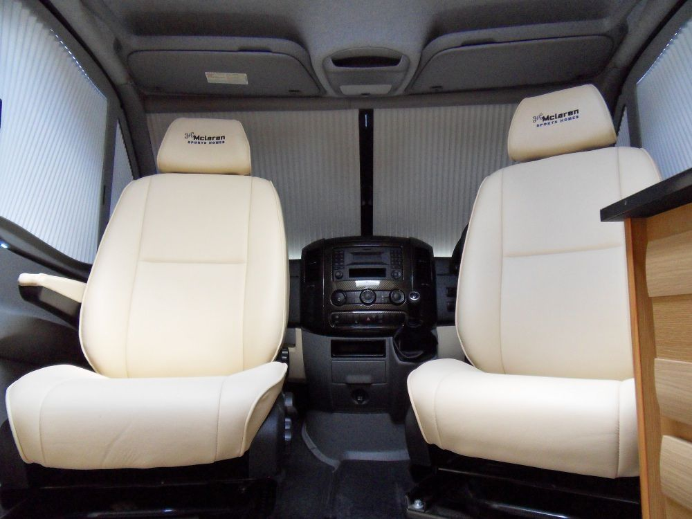leather motorhome captain swivel seats from mercedes sprinter motorhome