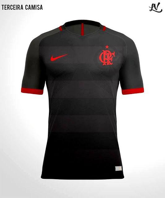 c0d11f39a8 Designer recria camisa do Flamengo nos padrões Nike Fla Hoje Flamengo Hoje