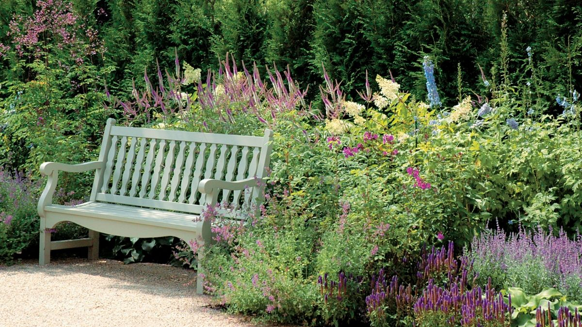 Gardens Tranquil Bench Area Randle Siddeley