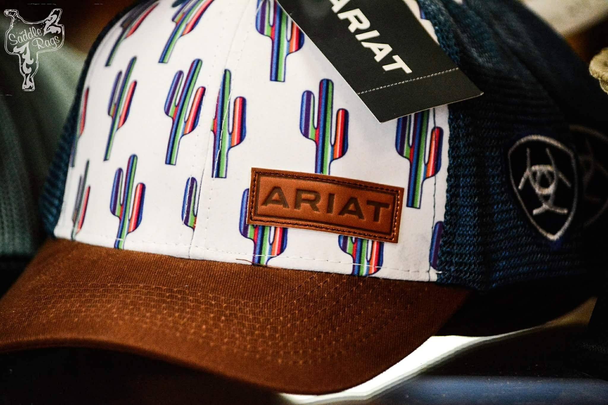 caee61f3 Ariat International Serape Cactus Cap | {Glam&Grit.} | Ropa, List ...