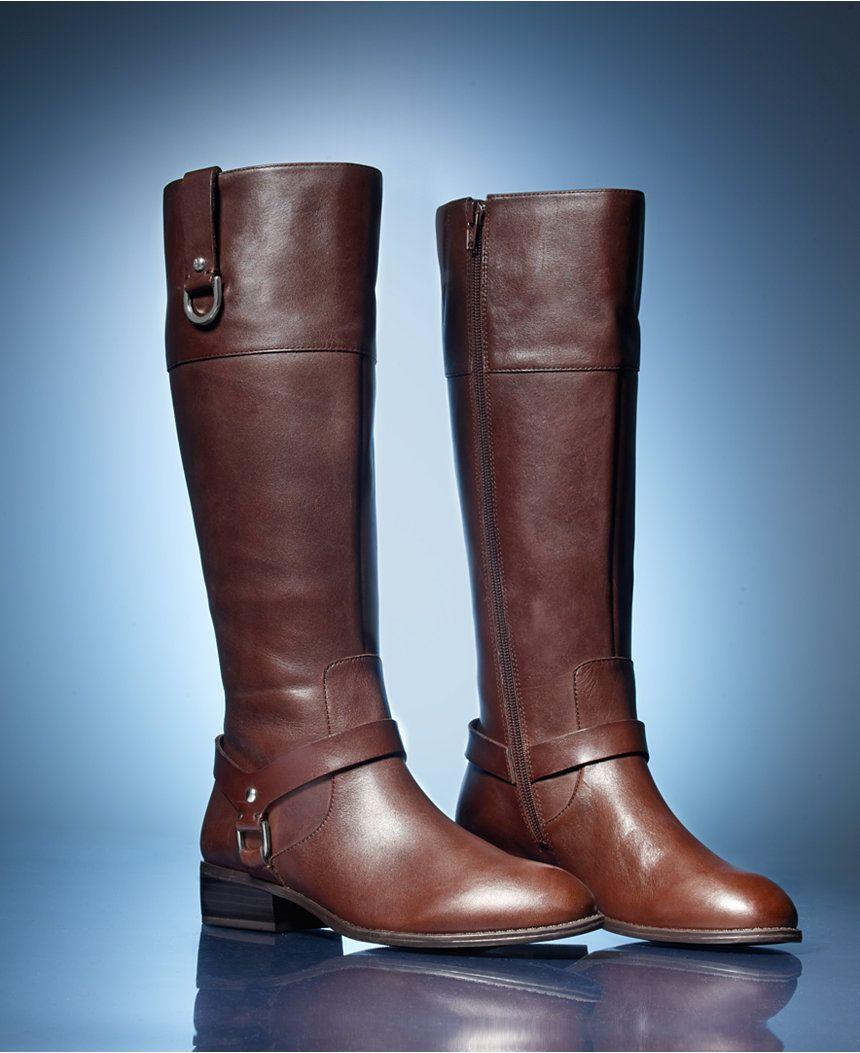 Lauren Ralph Lauren Mesa Riding Boots - Sale & Clearance - Shoes - Macy's
