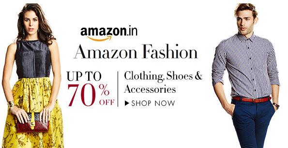 Amazon Fashion Weekend Sale Upto 70 Off On Clothing