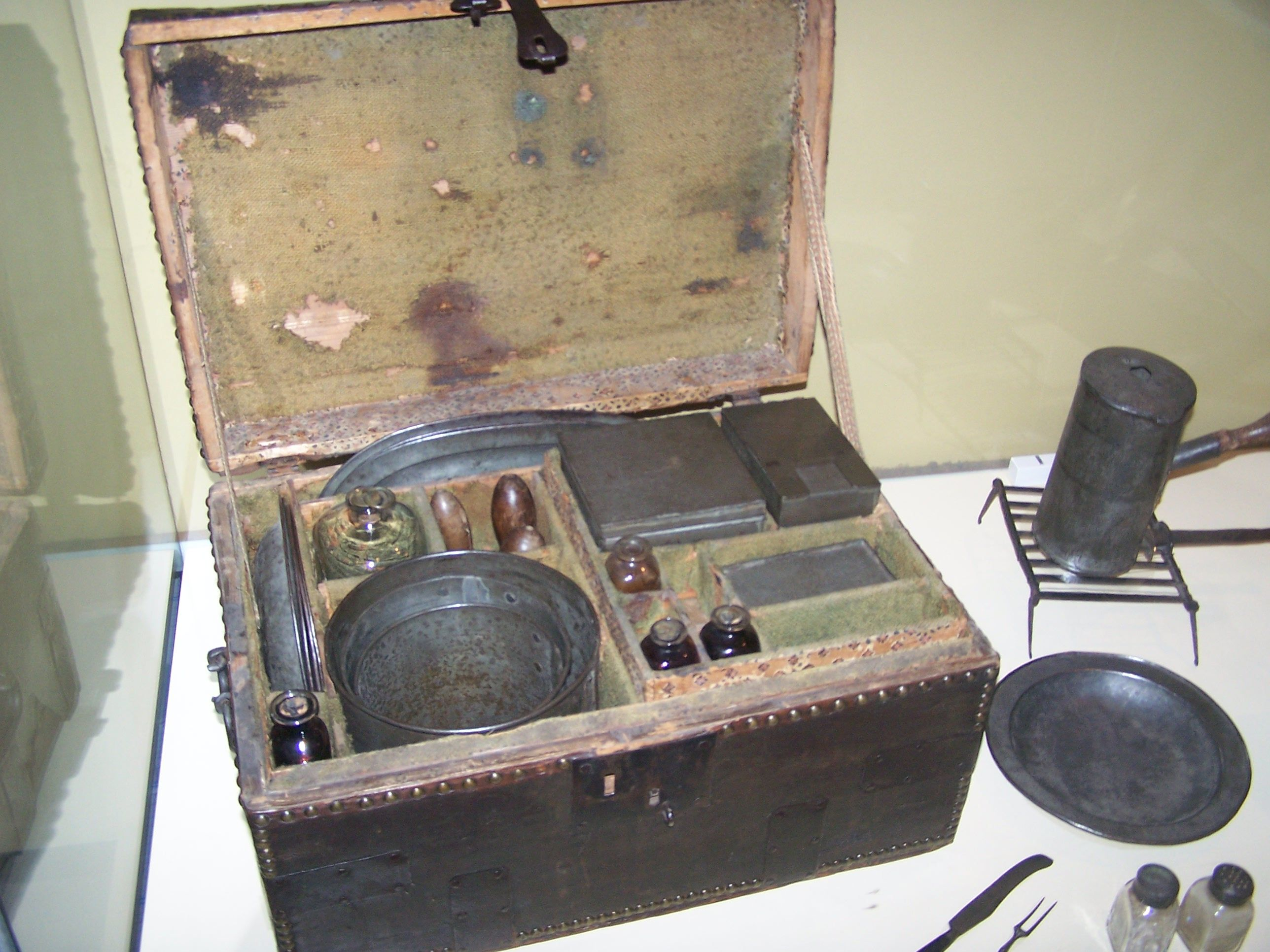 George Washington S Camp Chest That He Used During The Revolutionary War