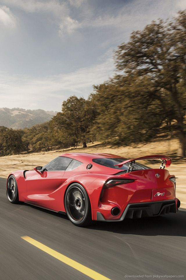 Merveilleux Download Toyota FT 1 Concept Back Wallpaper For IPhone 4
