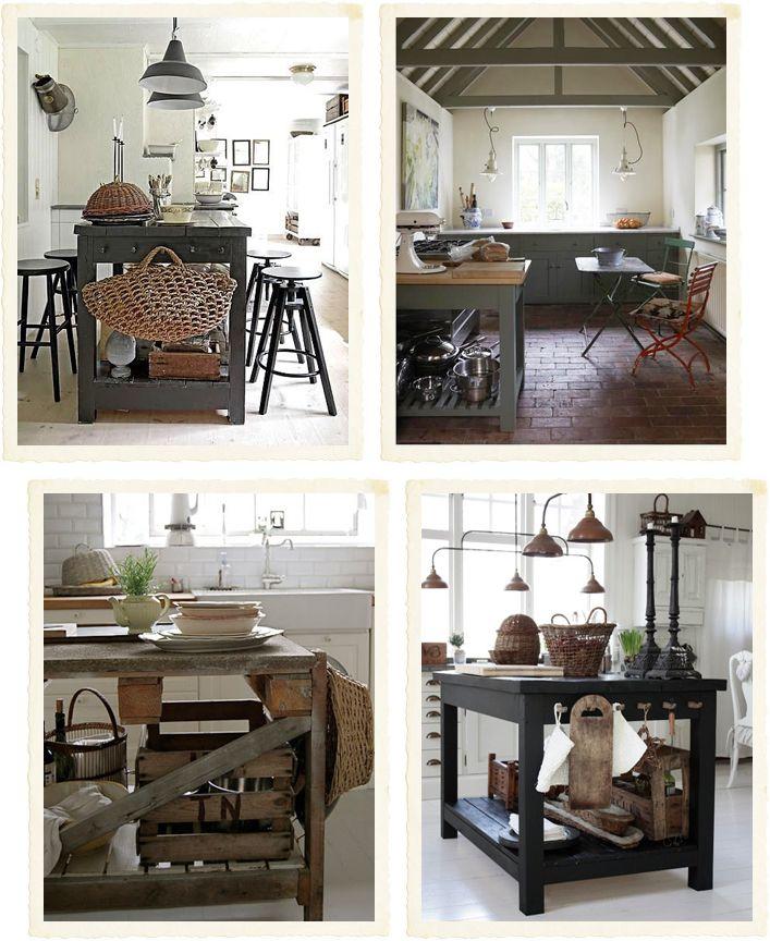 Shabby Chic Interiors: Bancone fai da te in cucina | Ideas for the House