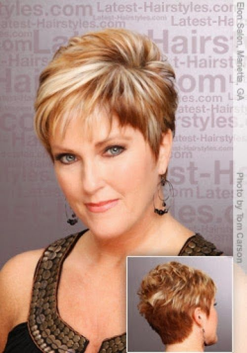 short hairstyles for overweight women | Fat Women Hairstyles for Short Hair - Short Hairstyles For Overweight Women Fat Women Hairstyles For