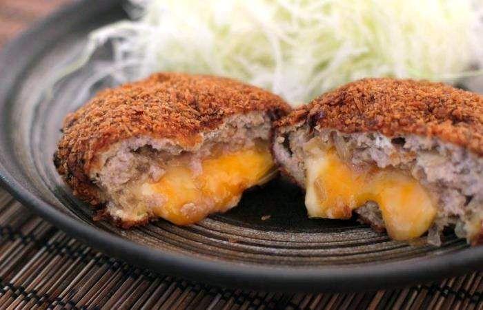 Мясо Японские котлеты с сыром