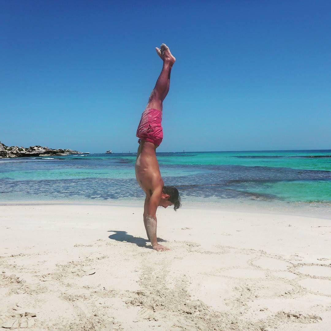 The balance of life #rottnestisland #handstand #balance by louis_93_koen http://ift.tt/1L5GqLp