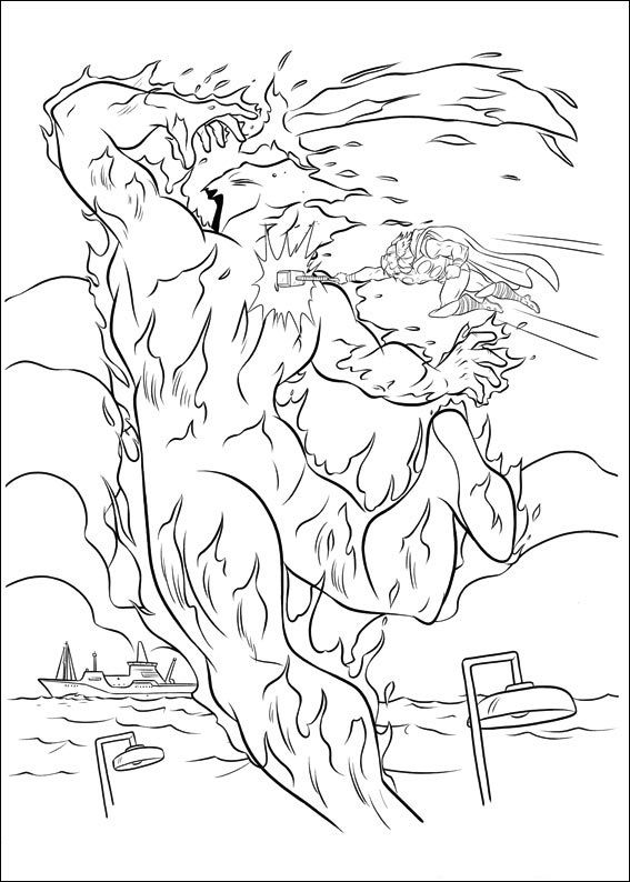 Thor Coloring Pages 8