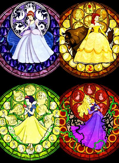 Cinderella Belle Snow White And Aurora