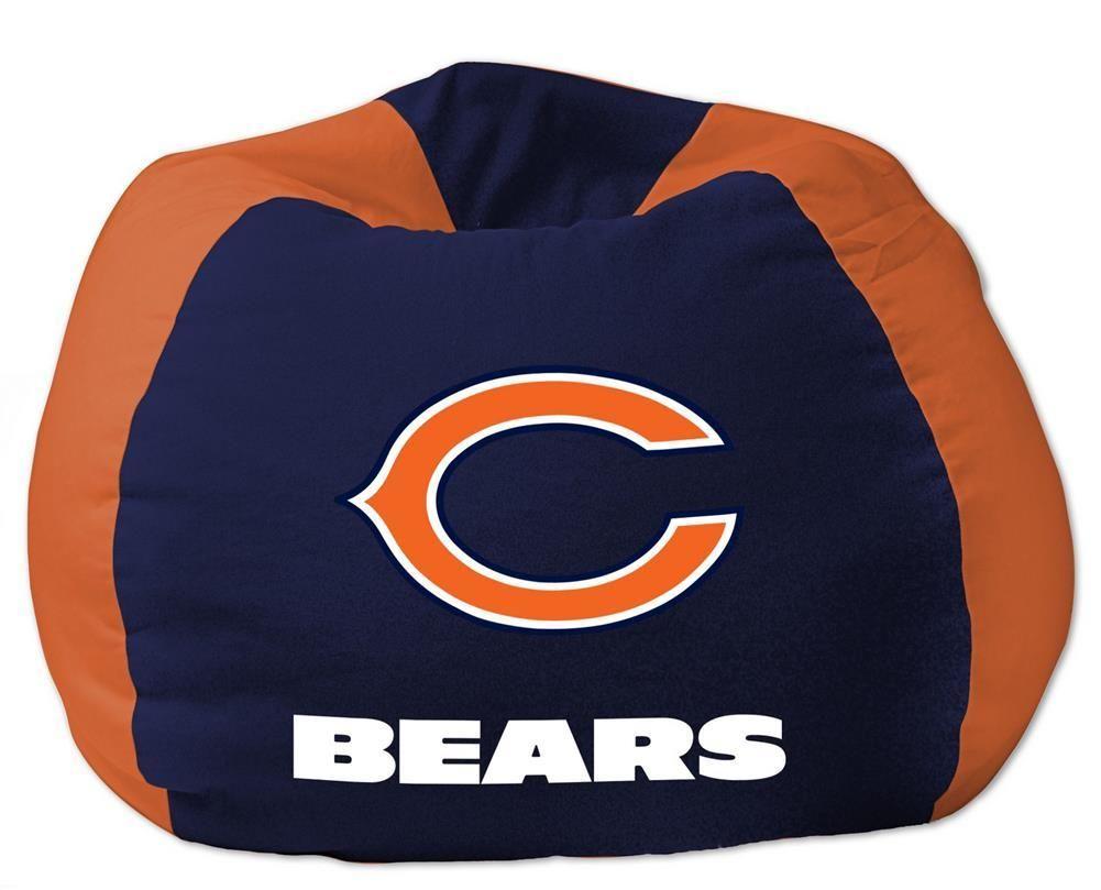Fabulous Kids Chicago Bears Bean Bag Chair Beanbag Chicago Bears Alphanode Cool Chair Designs And Ideas Alphanodeonline