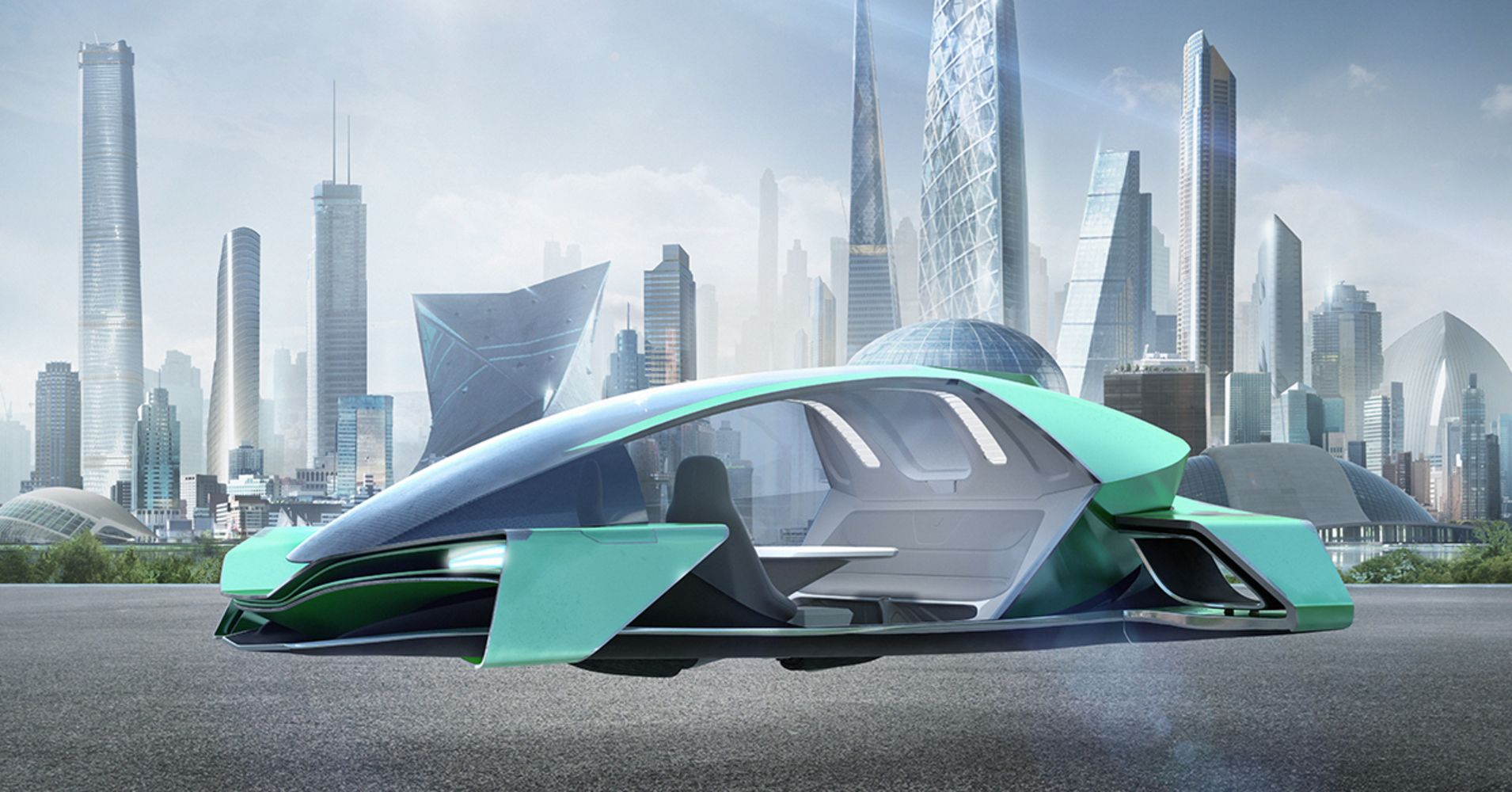 How Arconic Is Shaping The Future Skins Of Flying Cars Flying