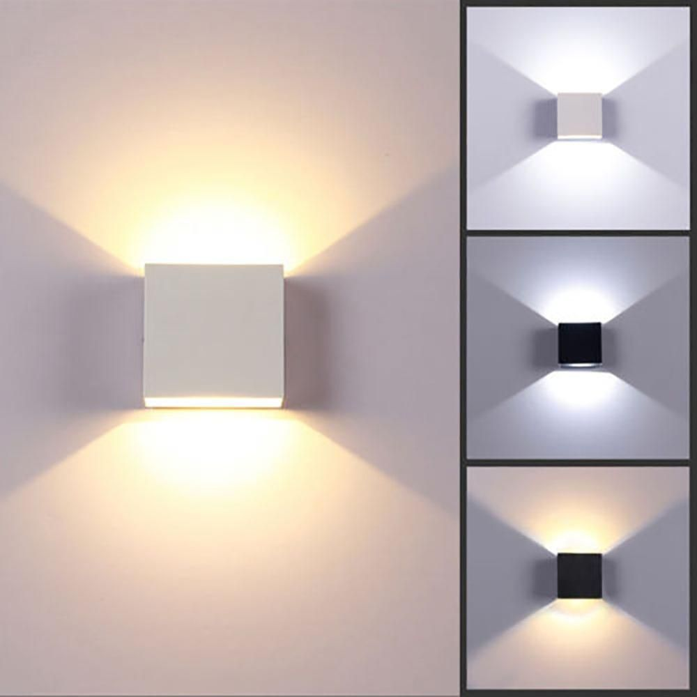 6w Mounted Led Wall Light Modern Nordic Luminaire Indoor Wall