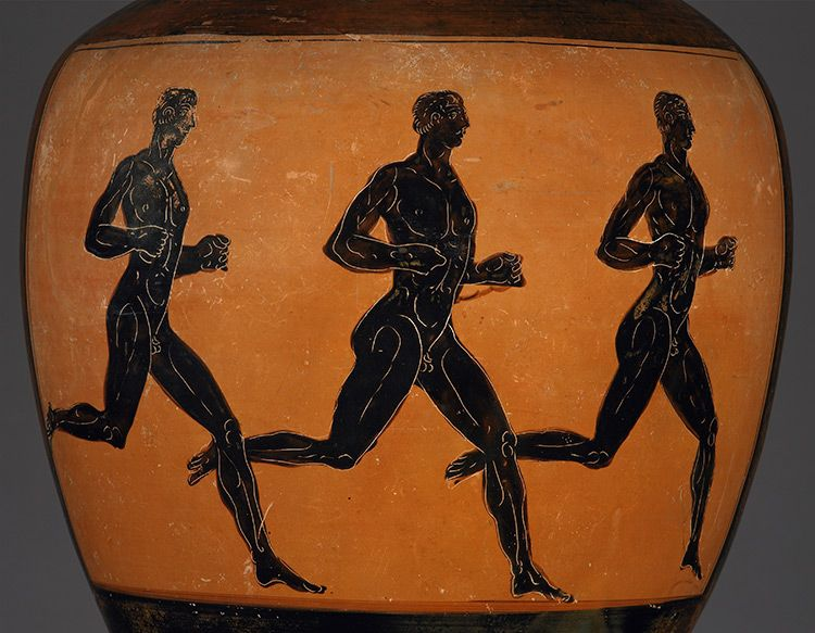 Panathenaic Way To Fitness History Today Ancient Art British Museum Greek Culture