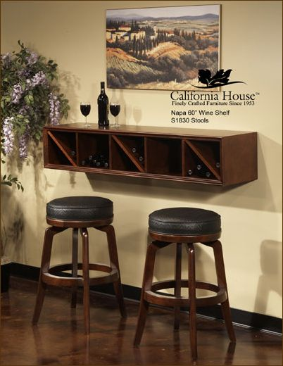 Floating Wall Bar Love This