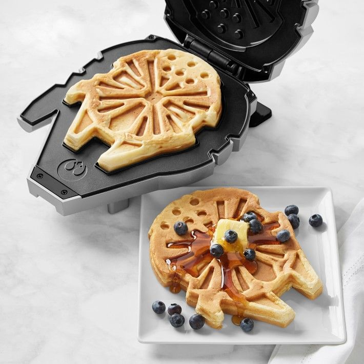 Star Wars™ Millennium Falcon™ Waffle Maker | Williams Sonoma