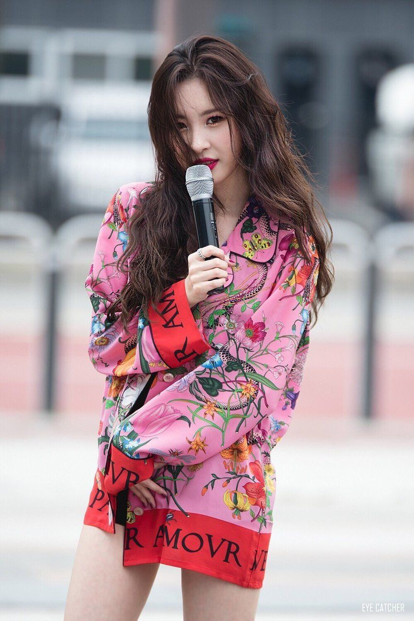 Gashina Promotions Sunmi Gashina Kpop Kidol Jyp Stil Korejskie Aktery Fotografii