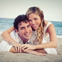 As a South Florida wedding photographer, I love photographing couples' engagements shoots in various locations. The beach is the best!