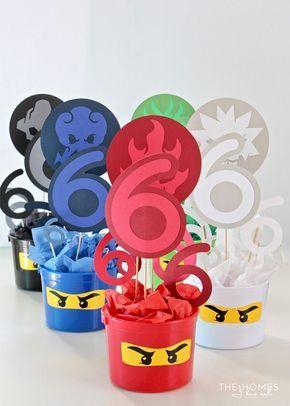 DIY Ninjago Party Decor (Henry's 6th Birthday Party!) (The ...