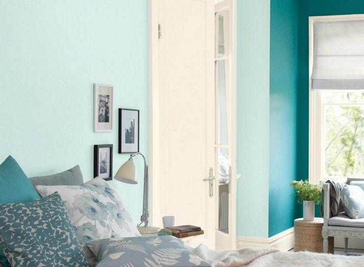 Wandfarbe im Schlafzimmer für einen erholsamen Schlaf | Schlafzimmer ...