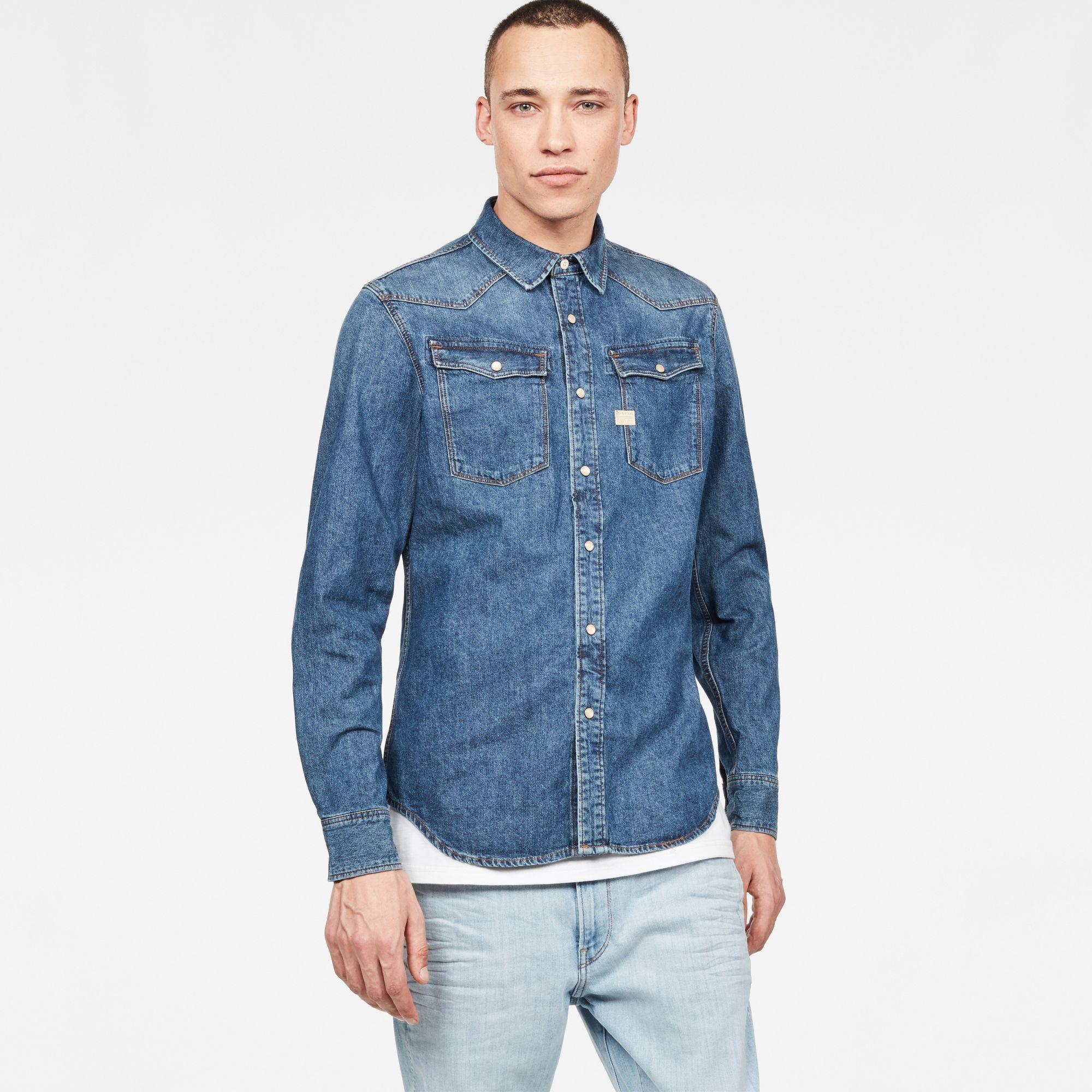 3301 Shirt | Shirts, Denim shirt, Denim