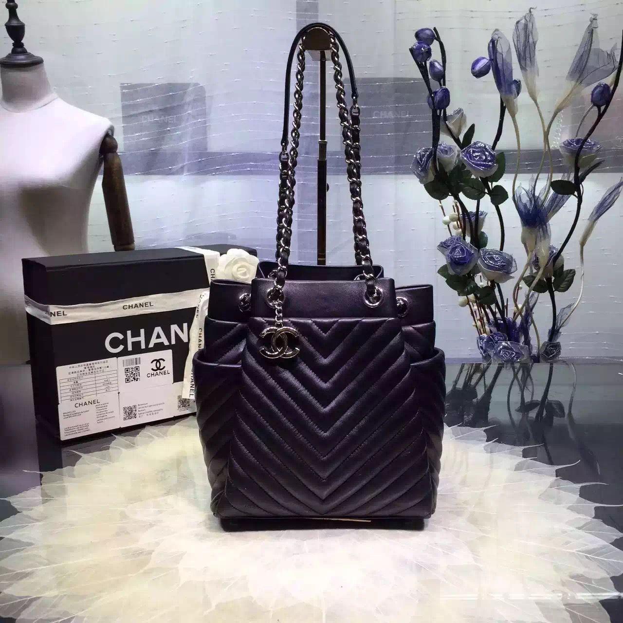 Chanel Small Drawstring Bag A91135 Spring-Summer 2016  3c6158129a1ad