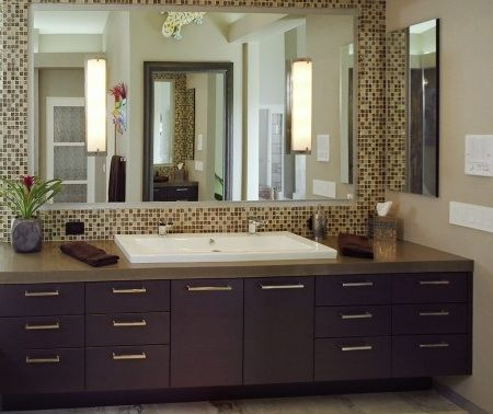This would be a perfect sink and cabinet for our bathroom for 2nd bathroom ideas