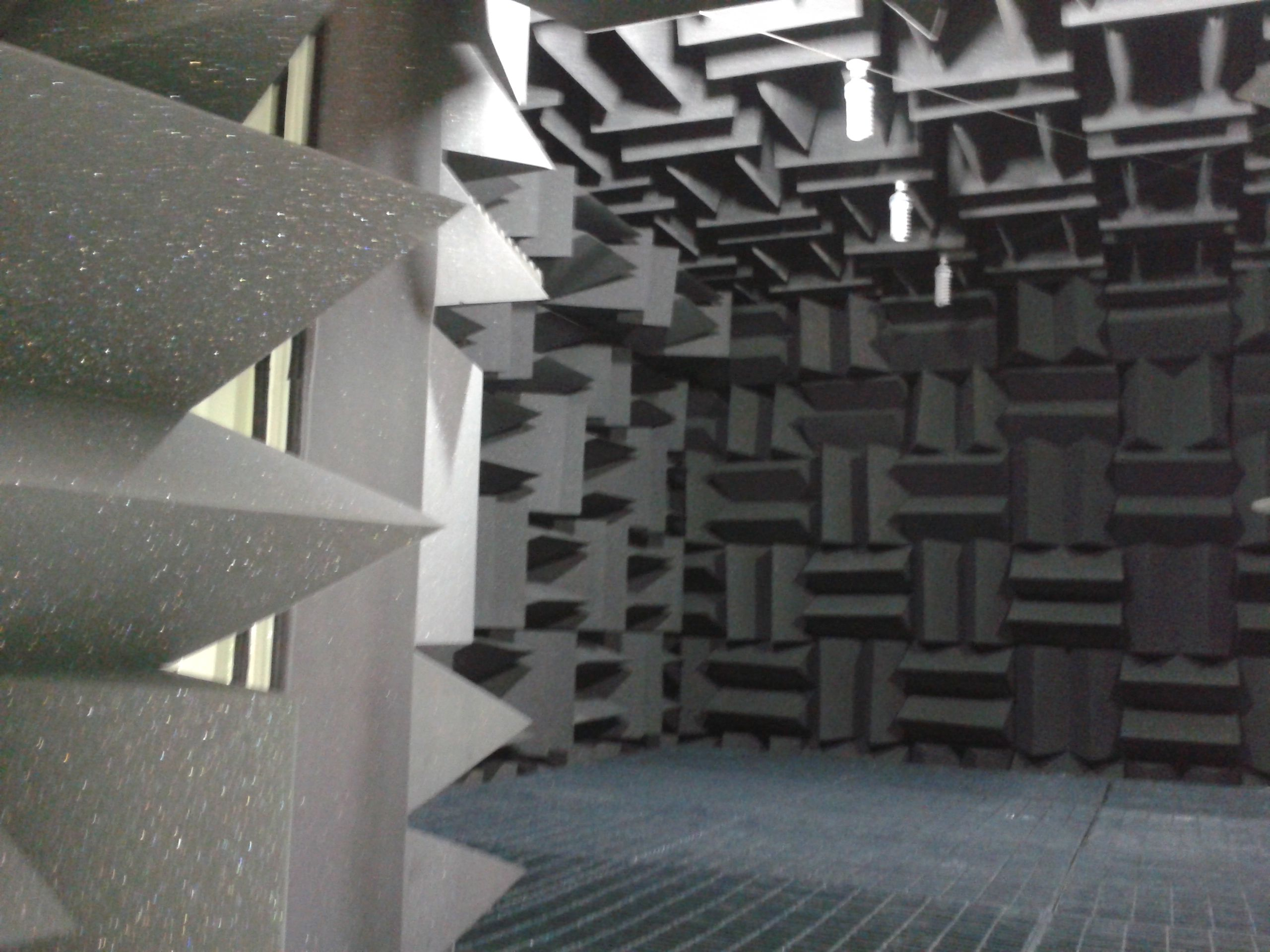 The Ecotone Designed Anechoic Chambers Have Features Of